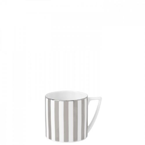 Jasper Conran Platinum Striped Mug